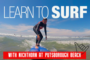 Learn to surf with Nick Thorn at Putsborough Beach
